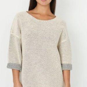 American Apparel Reversible Knit Sweater